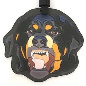 7a7c61cd28 Givenchy Other - Givenchy Rottweiler Leather Bag Charm Tag